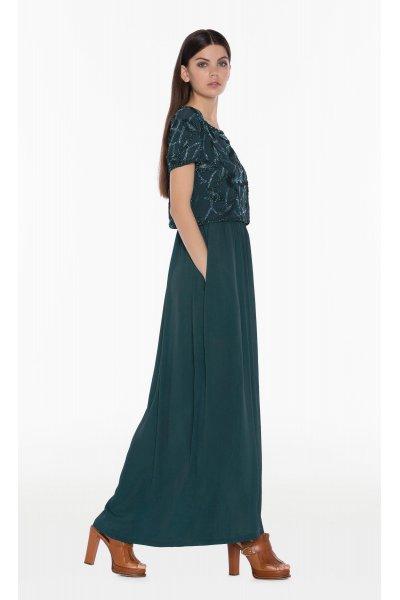Vestido TWIN-SET Largo Cuerpo Joya