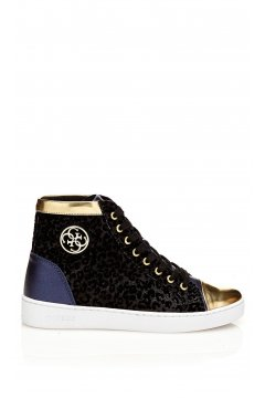 Zapatillas GUESS Glitter Leopardo