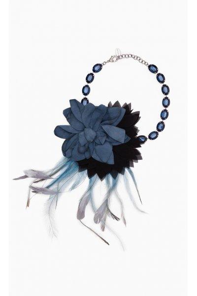 Collar TWIN-SET Flor Azul