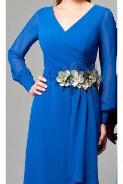 Vestidos fiesta azul tinta