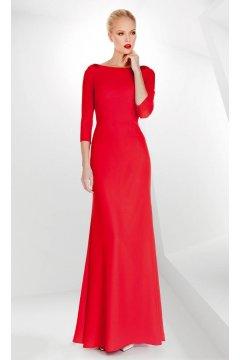 Vestido SONIA PEÑA Largo Rojo