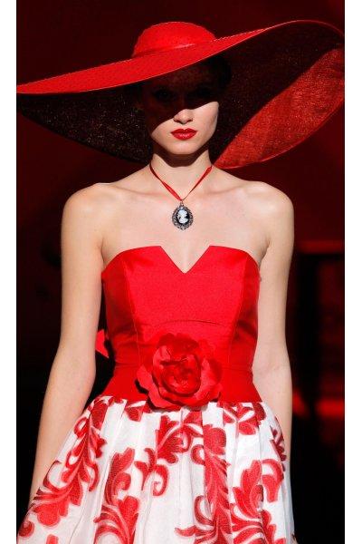 Vestido SONIA PEÑA Corto Estampado Flores