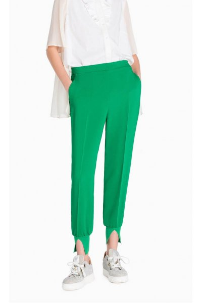 Pantalón TWIN-SET Jogging Verde