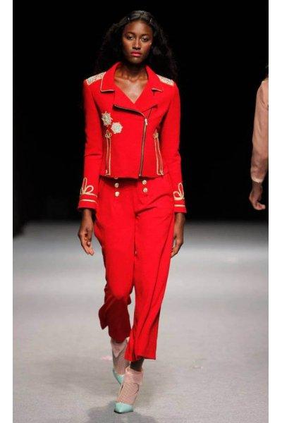 Pantalon LA CONDESA Palabo Parfait Rojo