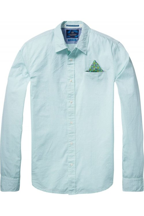 Camisa SCOTCH & SODA Popelin Verde