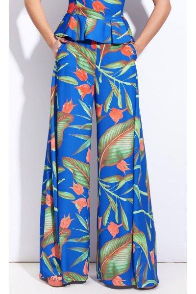 Pantalon SAHOCO Azul Estampado