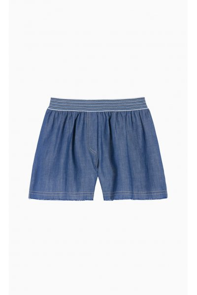 Short TWIN-SET de Chambray
