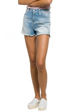 Shorts REPLAY Tiro Alto Hyperflex