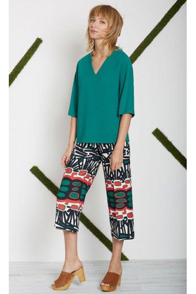 Pantalón ALBA CONDE Estampado Multicolor