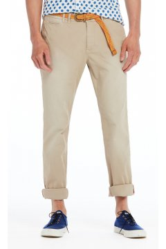 Chinos SCOTCH & SODA Beige + Cinturón