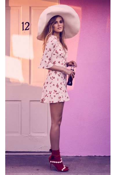 Vestido FOR LOVE AND LEMONS Cherry Sundress