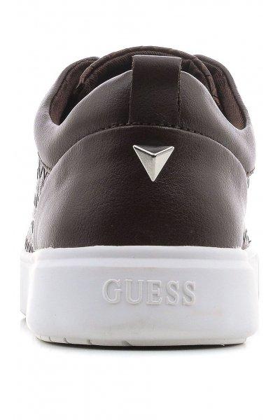 Sneaker GUESS Piel Trenzada Marrón