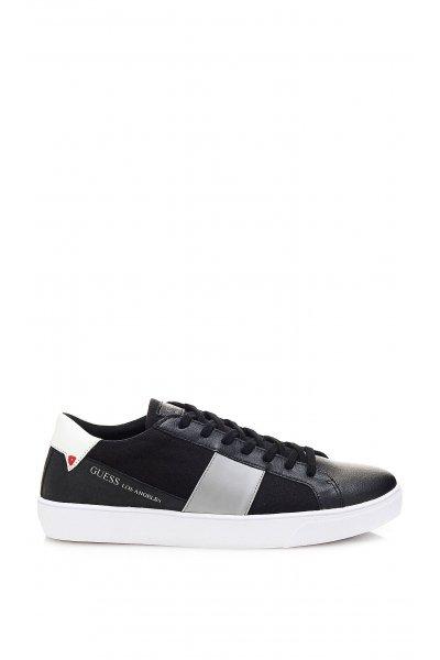 Sneaker GUESS Cuero Negra