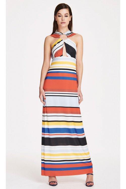 Vestido DENNY ROSE Rayas Multicolor