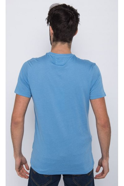 Camiseta Azul Six
