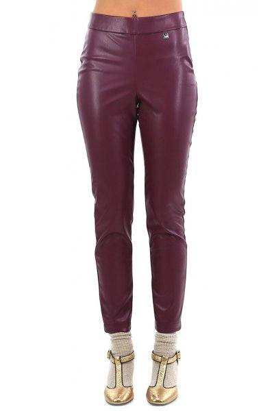 Leggings TWIN-SET Mogano