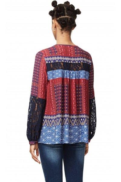 Camisa DESIGUAL Mona Fucsia