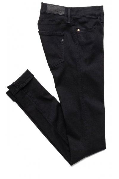 Pantalón REPLAY Touch Negro Cintura Alta