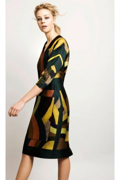Vestido ALBA CONDE Geométrico