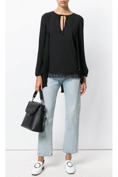 Blusa TWIN-SET Plisada
