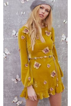 Vestido FOR LOVE AND LEMONS Papillon Mini Dress
