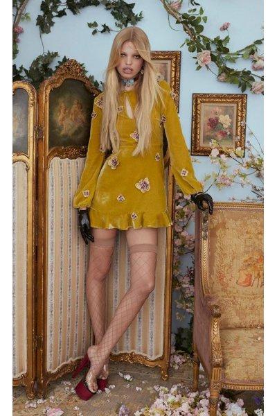 Vestido FOR LOVE AND LEMONS Papillon Mini Dress