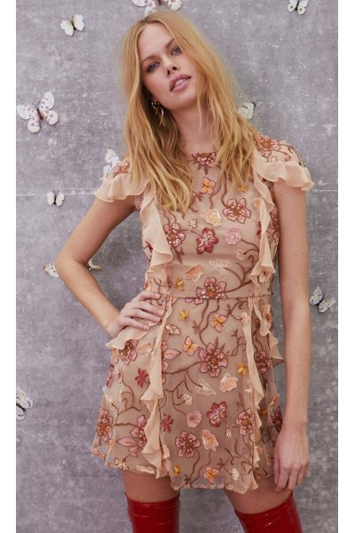 Vestido FOR LOVE AND LEMONS Botanic