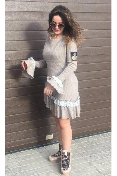 Vestido MANGATA Asimetrico