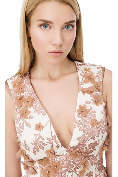 Vestido ELISABETTA FRANCHI Floral 3D