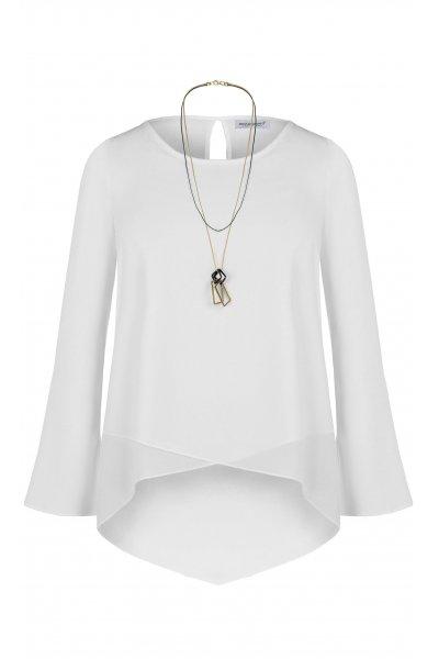 Blusa RINASCIMENTO Bajo Cruzado + Collar