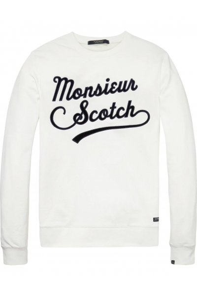 Sudadera SCOTCH & SODA Logotipo