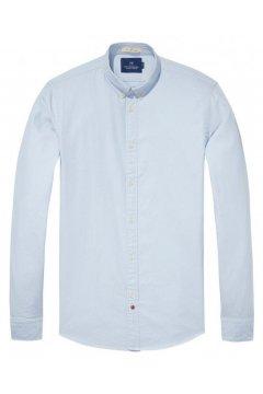 Camisa SCOTCH & SODA Oxford Celeste