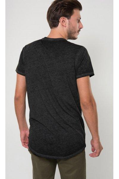 Camiseta SCOTCH & SODA Estampada Desgastada