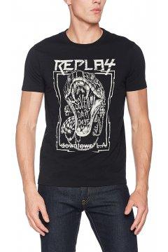 Camiseta REPLAY Estampado Serpiente