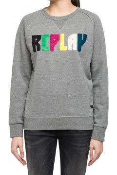 Sudadera REPLAY Logo Multicolor