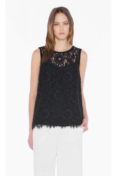 Camiseta TWIN-SET Flores Bordadas
