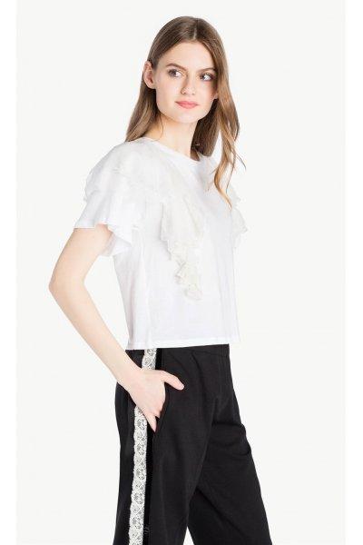 Camiseta TWIN-SET Volantes