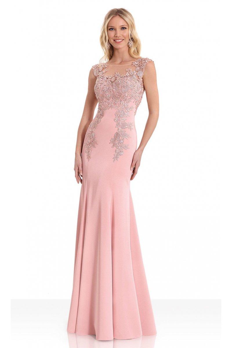 Vestido SUSANNA RIVIERI Largo Powder Pink