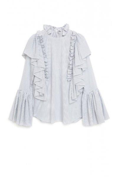 Camisa IMILOA Cuello Imperio