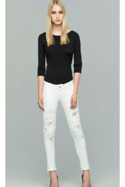 Jeans FRACOMINA Blanco