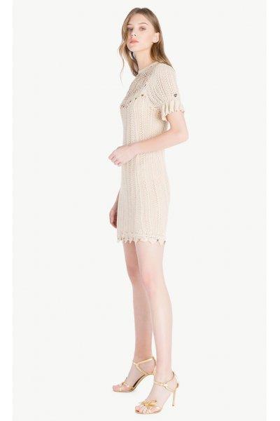 Vestido TWIN-SET Crudo