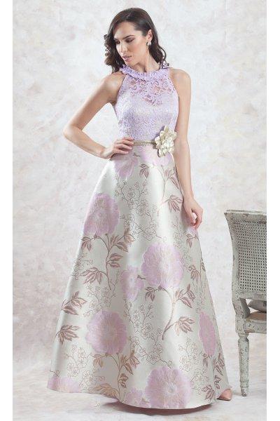 Vestido MONCHO HEREDIA Largo Marino