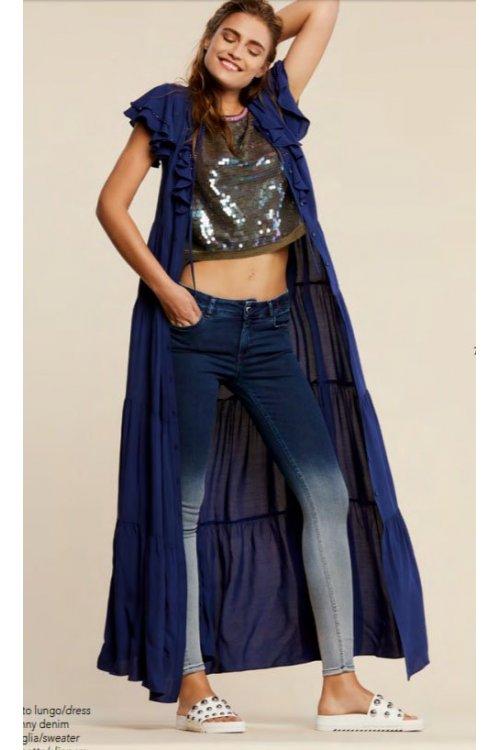 Jeans TWIN-SET Lavado Degradado