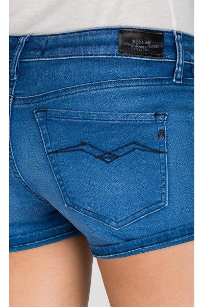 Shorts REPLAY Hyperflex Índigo