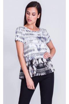 Camiseta ALBA CONDE Estampado Letras