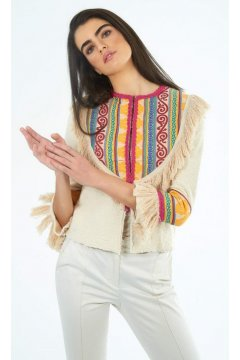 Cardigan THE EXTREME COLLECTION Pechera Multicolor