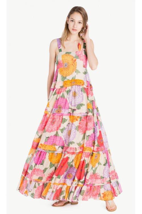 Vestido TWIN-SET Largo Floral