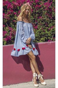 Vestido SUNDRESS Charlotte Blue