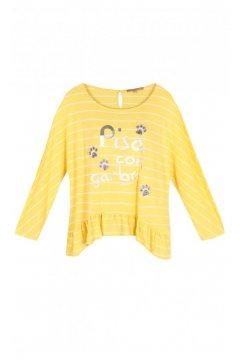 Camiseta DOLORES PROMESAS Frase Amarilla