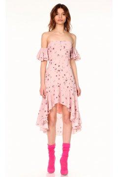 Vestido DENNY ROSE Flores Asimétrico